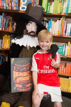 Guy Fawkes and friend - photo by Paul Stead Photography