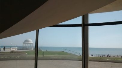 I do like to be beside the seaside - at the De la Warr Pavilion in Bexhill