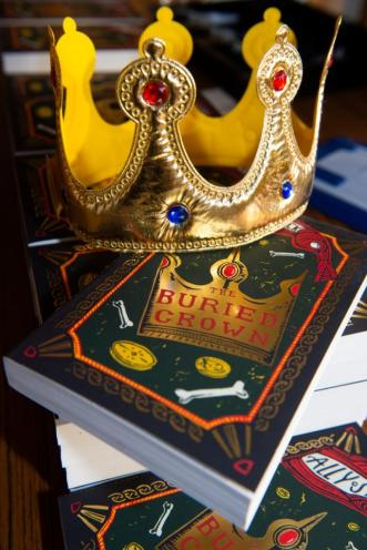 Crown and book