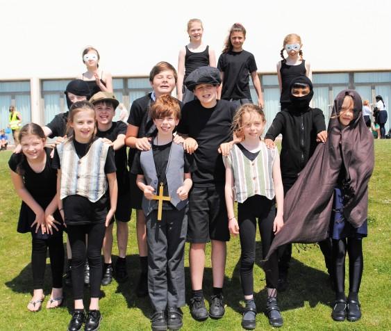 St James CE Junior School Book Club cast