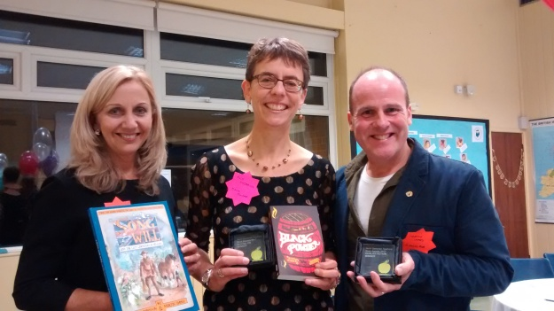 Ally with Martin Impey and Hilary Robinson