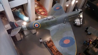 This Spitfire flew in the Battle of Britain
