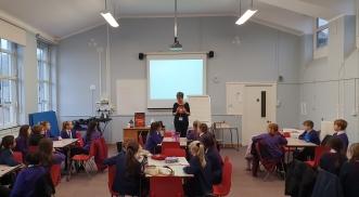 Class workshop Talbot Heath and Bethany Juniors